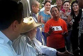 Maduro pasa cinco horas con Fidel y le regala un río de petróleo venezolano