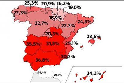 ¡Catastrofe!: España supera por primera vez los seis millones de parados