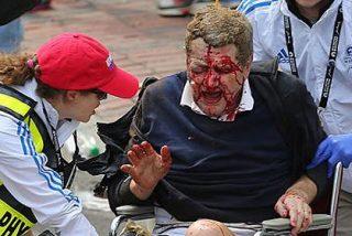 Dos bombas terroristas causan una espantosa masacre en el Maratón de Boston