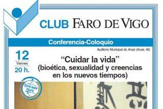 """Juan Masiá presenta """"Cuidar la vida"""" (RD-Herder) este viernes en el Club Faro de Vigo"""