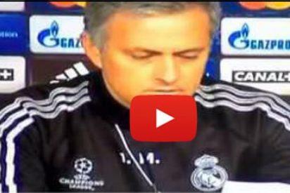 Mourinho, a saco contra Fernando Burgos por preguntarle por los goles que recibe Diego López: