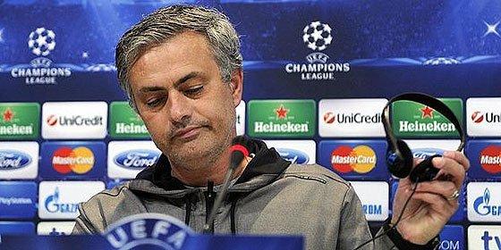 """Mourinho: """"Si no llegamos a la final de la Champions, será mi fracaso"""""""