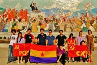 Los 'cachorros' comunistas españoles apoyan a los fanáticos de Corea del Norte