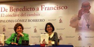 Paloma Gómez Borrero: ''Francisco nos ha traído ilusión y eso es importantísimo''