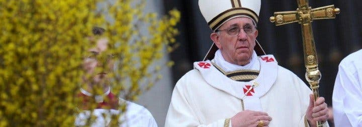 La primera Semana Santa de Francisco