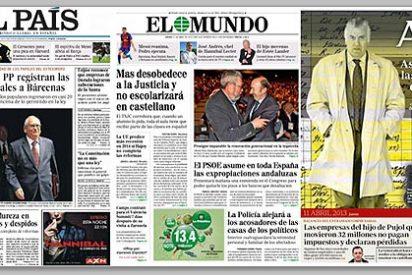 El diario 'ABC' desvela como consiguió 'El País' los papeles de Bárcenas