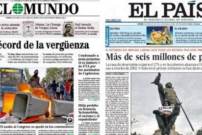 Las portadas de la vergüenza para Mariano Rajoy y Fátima Báñez