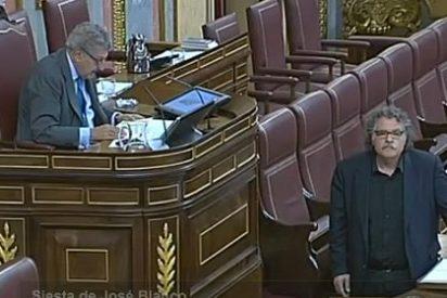 Tardà monta el número en el Congreso hablando catalán y Posada le expulsa sin contemplaciones