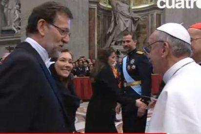 Rajoy agradecerá al Francisco el papel de la Iglesia ante la crisis