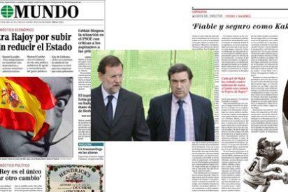 Pedrojota Ramírez pide la cabeza del presidente Rajoy por 'flojo'