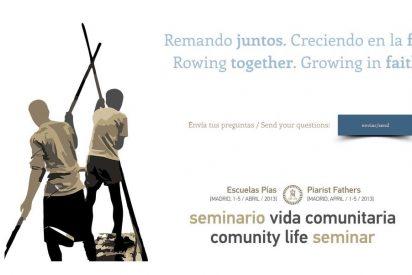 """""""Seminario de discernimiento sobre la Vida Comunitaria Escolapia"""""""