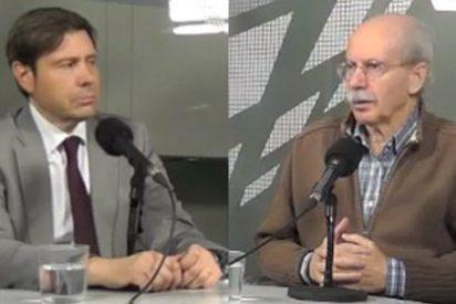"""Ricardo Martín: """"Que Pío Moa diga que la historia del PSOE era siniestra es vomitivo, viniendo de un señor que defendió el franquismo"""""""