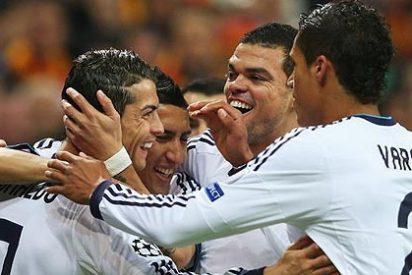 Cristiano Ronaldo mete 2 al Galatasaray y quita el susto al Real Madrid