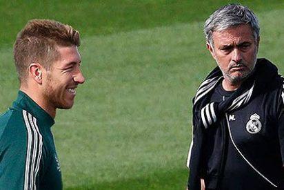 """Mourinho lima asperezas con Sergio Ramos: """"Tú eres el mejor del mundo pero tienes que estar comprometido e implicado"""""""