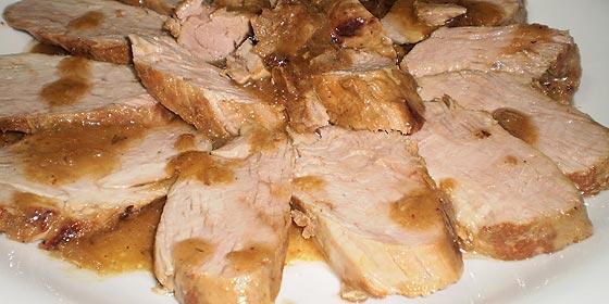 Receta de cocina: solomillos de cerdo al cava