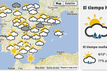 Vuelven las lluvias y el frío a la Península Ibérica en este fin de semana