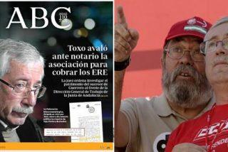 El huelguista Toxo avaló ante notario la asociación para cobrar los ERE