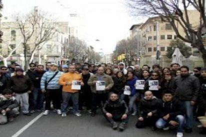 El 'desaparecido' Diego Franco saludó a su abuela que estaba en su balcón desde la calle