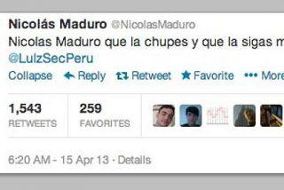 Piratean la cuenta de Nicolás Maduro en Twitter: