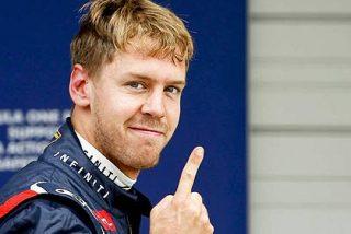 Vettel se cachondea de un periodista de TV3 que dijo ser catalán y no español