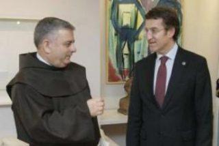 Carballo y Feijoo preparan la visita del Papa a Compostela en 2014