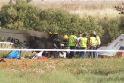 Mueren tres personas al estrellarse una avioneta cerca del cementerio de Bon Sosec