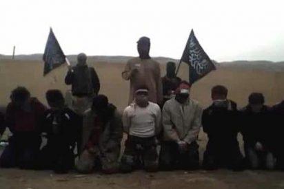 Espeluznante ejecución de once soldados en Siria a manos de los rebeldes