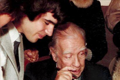 El Papa recibe las obras completas de Borges