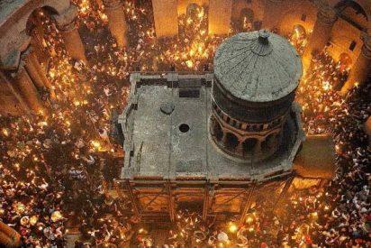 El milagro del fuego santo