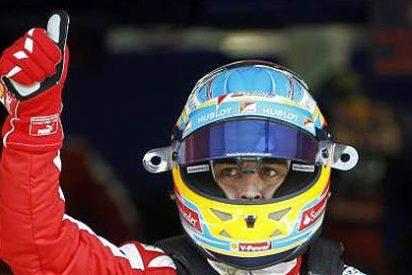 Fernando Alonso gana con autoridad en el GP de España