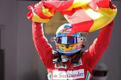Fernando Alonso: La bandera de España bien vale una sanción