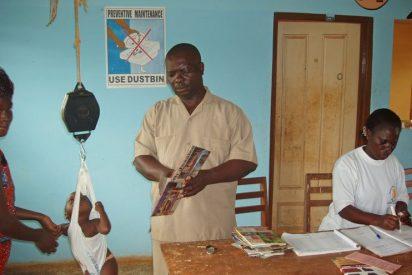 Juan Ciudad envia un contenedor al hospital de Asafo en Ghana