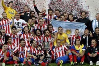 El Atlético de Madrid se corona en el Bernabéu campeón de la Copa del Rey