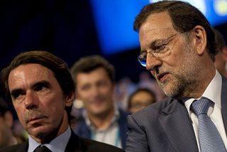 Mariano Rajoy aguanta flemático y un poco guasón el órdago de Aznar
