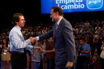Aznar se postula para sustituir a Rajoy