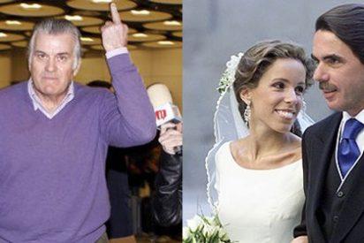 Al PP le hacen la peineta: Se confirma el pago de sobresueldos y Gürtel abonó parte de la boda de la hija de Aznar