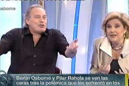 El 'indignado' Bertín Osborne pone en su sitio a una sufrida Pilar Rahola