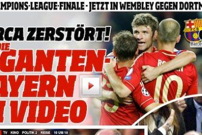"""La prensa germana: """"El tiempo de mirar con envidia hacia España ha pasado. El fútbol en Europa es definitivamente alemán"""""""