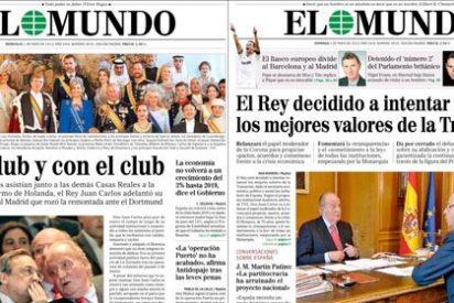 Codazos cortesanos entre Pedrojota y el socialista Sacaluga (TVE) para pedirle al Rey que nos saque del hoyo