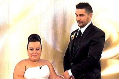 La ex gran hermana Chiqui da el 'sí, quiero' en 'Las bodas de Sálvame'
