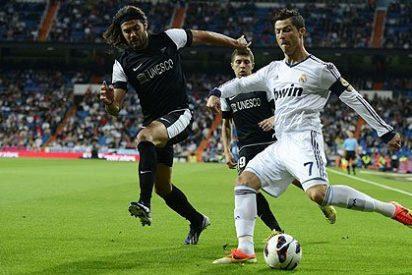 El Real Madrid goleó al Málaga en un partido loco que acabó con marcador de tenis (6-2)