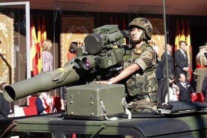 Defensa suprime por 'austeridad' el desfile militar del Día de las Fuerzas Armadas 2013