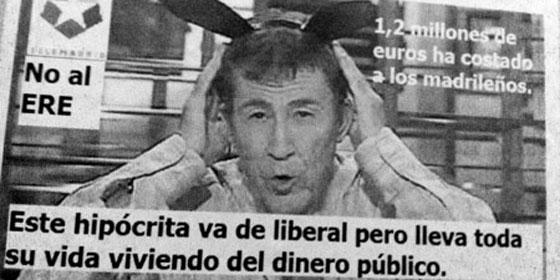 """Los sindicatos de Telemadrid: """"¿Hasta cuándo abusarás, Dragó, de nuestra paciencia?"""""""