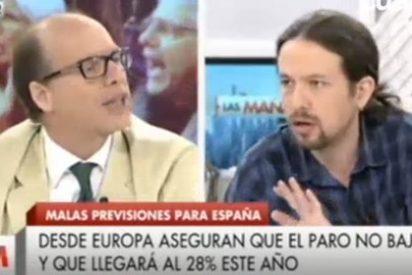 """Jaime González le baja los humos al antisistema Iglesias: """"Parece que aquí tú eres el único garante de los derechos sociales"""""""