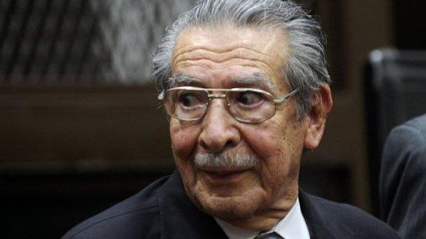 El Constitucional de Guatemala anula la sentencia al dictador Rios Montt