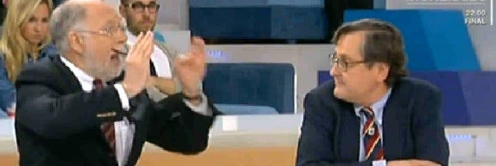 """Ekaizer contra Marhuenda: """"¡Mientes, tu papel en la entrevista a Aznar fue lamentable!"""""""