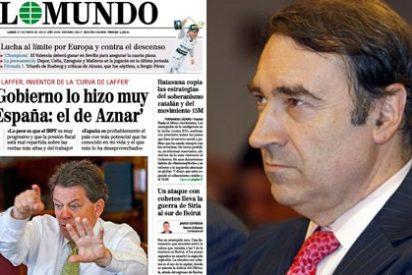 Pedrojota insiste en vender la moto a sus lectores con las bondades de José María Aznar