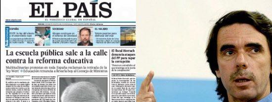 ¿Cobró Aznar sobresueldos siendo presidente? Según El País, sí