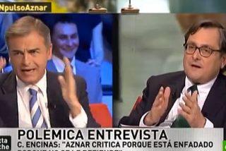 Aznar y 'señora' provocan el 'gran cabreo' entre Paco Marhuenda y Carmelo Encinas