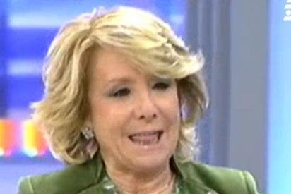 """Esperanza Aguirre: """"Al ministro de Hacienda le gusta subir impuestos"""""""